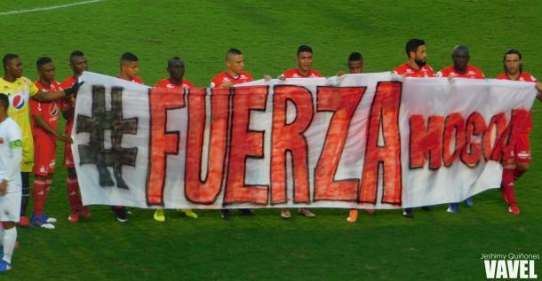 América y su mensaje de solidaridad por la tragedia que enluta a Mocoa, Putumayp