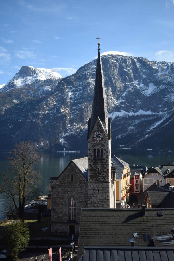 Iglesia evangélica luterana de Hallstatt / Clara Fernández
