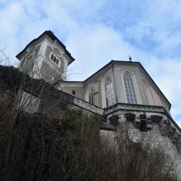 La iglesia gótica, que se empezó a construir en el siglo XII / Clara Fernández