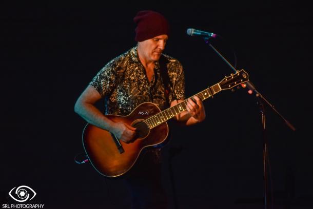 Juan Aguirre durante el concierto en San Fernando | Foto: Silvia Rueda Lozano