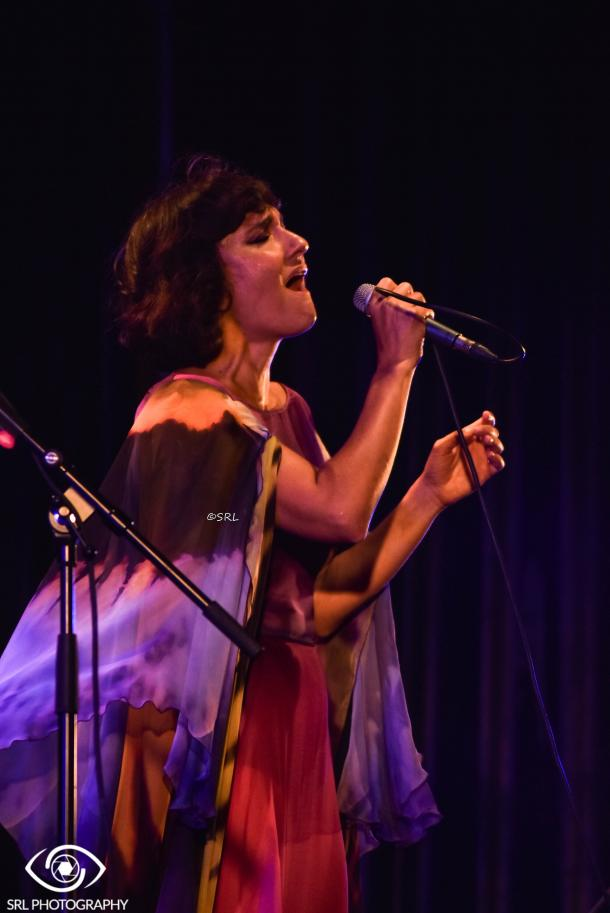 Eva Amaral en San Fernando | Foto: Silvia Rueda Lozano