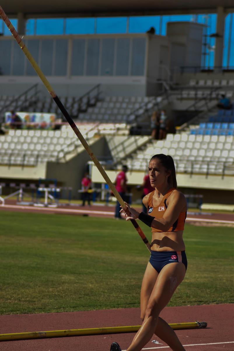 Patricia Hidalgo durante el Campeonato Máster España 2020   Foto: Silvia Rueda