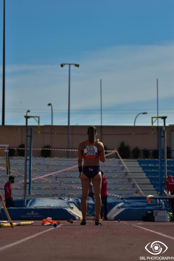 Patricia Hidalgo en el Campeonato de España Máster 2020 | Foto: Silvia Rueda Lozano