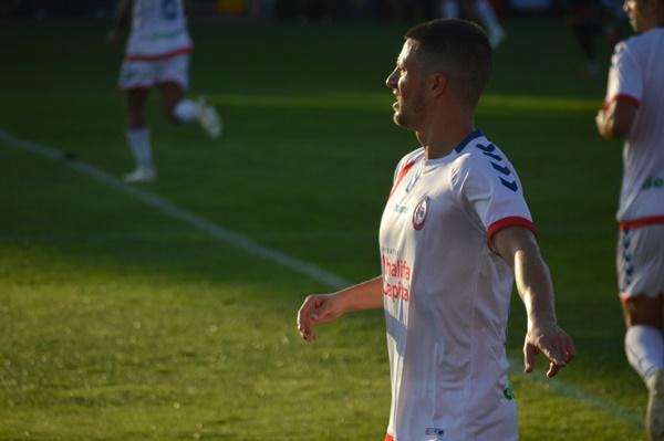 Ernesto durante un partido. Fotografía: Laura Beltrán (Vavel)