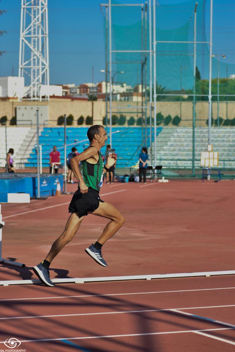 Francisco del Río en el Campeonato Máster España | Foto: Silvia Rueda Lozano