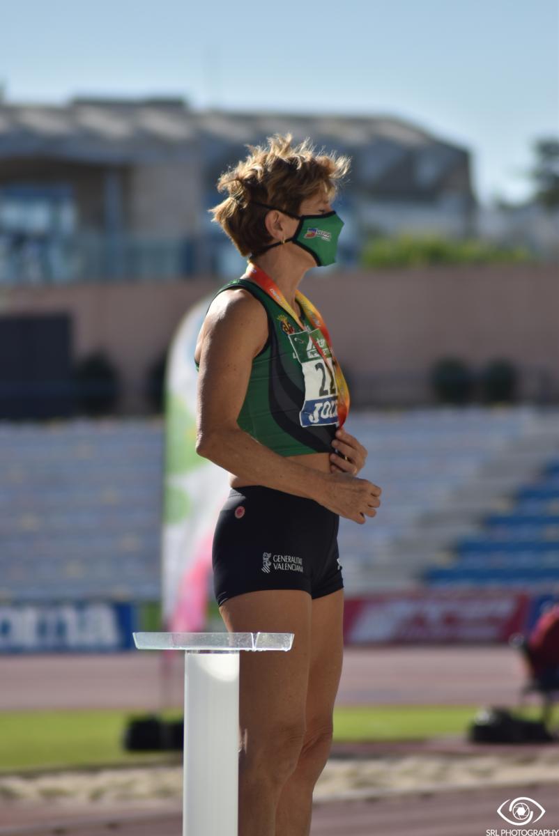 Rosa Escribano en el Campeonato España Máster 2020 | Foto: Silvia Rueda Lozano