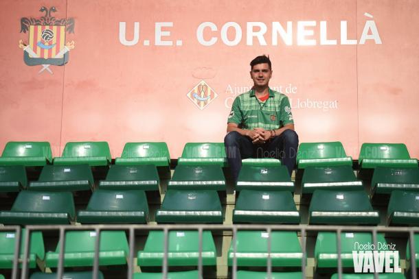 El delantero, ilusionado con el conjunto verde | Foto: Noelia Déniz - VAVEL