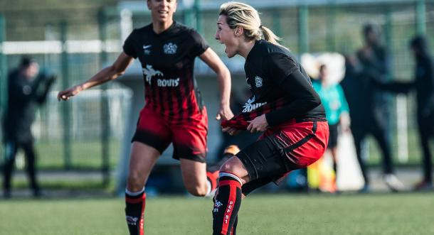 Claire Lavogez has ended her time with Fleury 91 | Source: lesfeminines.fr