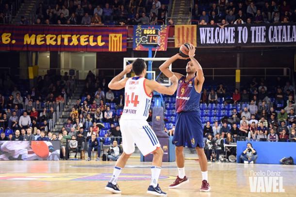El ataque del Barça no pudo sostener a su pobre defensa. | Fotografía: Noelia Déniz (VAVEL.com)