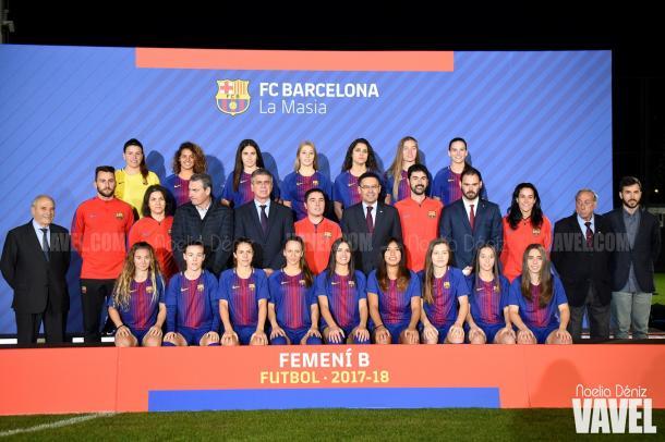 Presentación del FCB Femení B 2017-2018 | Foto: Noelia Déniz - VAVEL