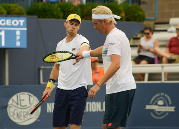Henri Kontinen and John Peers couldn't make it a second Masters title in a row (Photo: Noel Alberto)