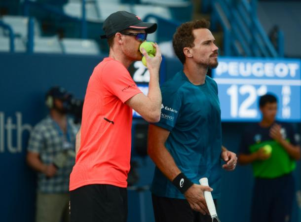 Jamie Murray and Bruno Soares will be hoping to go one better and win the trophy after reaching back-to-back finals (Photo: Noel Alberto)