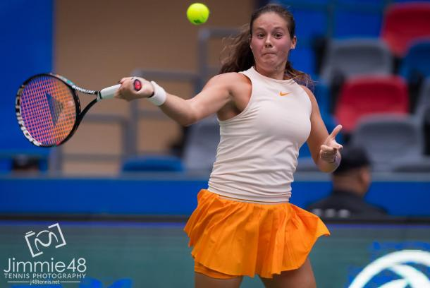 Daria Kasatkina had to save four match points to book a spot in the third round | Photo: Jimmie48 Tennis Photography