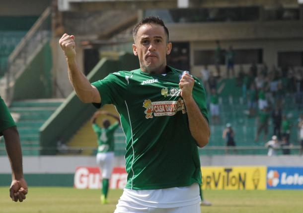 Pipico foi um dos pilares no acesso bugre à segunda divisão nacional | Foto: Israel Oliveira/Guarani F.C.
