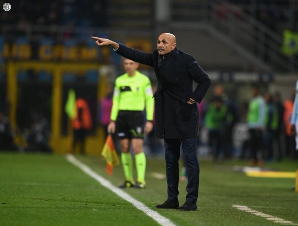 Spalletti dirigiendo al Inter | Foto: Inter