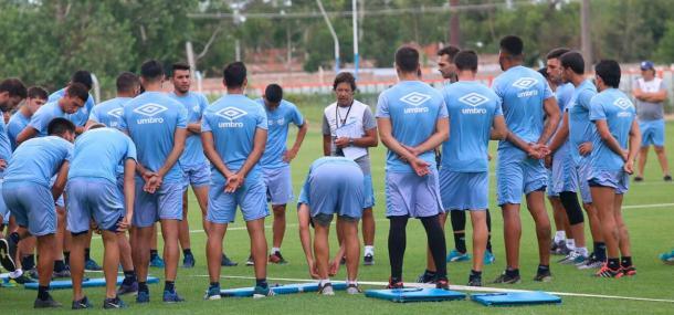 Tucumán voltou às atividades visando sequência da temporada há cerca de uma semana (Foto: César Díaz/Atlético Tucumán)