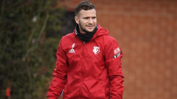 Tome Cleverley está en duda para el choque ante Leicester | Foto: Watford.