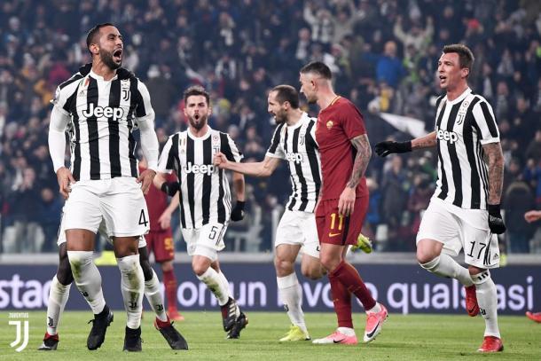Sarà decisiva la gara esterna con la Roma in programma alla penultima giornata. Foto: Twitter JuventusFC