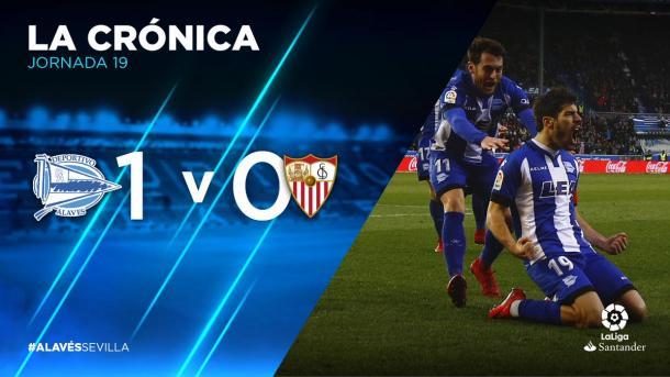 Manu García, autor del gol frente al Sevilla, es duda para el encuentro frente al Leganés. Fuente: LaLiga