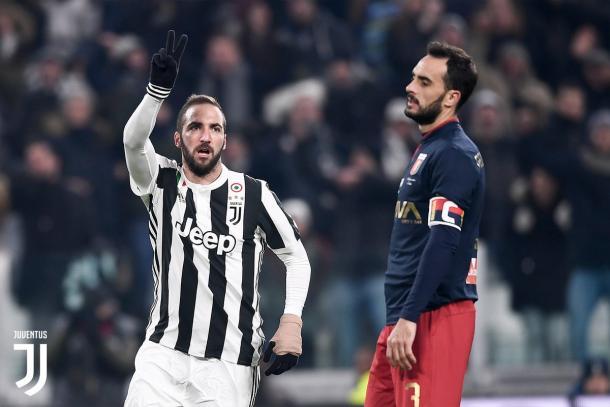 Lunedì prossimo la Juventus sarà impegnata contro il Genoa. Foto: Twitter JuventusFC