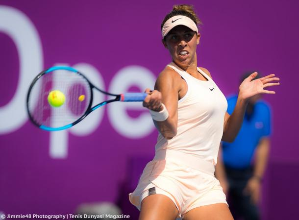 Madison Keys sealed the impressive victory in just 56 minutes | Photo: Jimmie48 Tennis Photography
