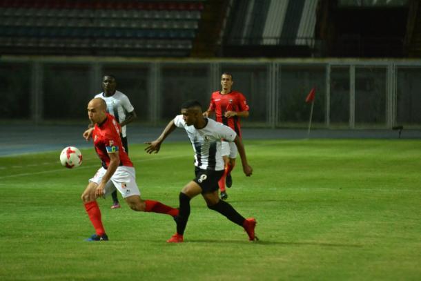 Andreutti y Makoun en la medular | FOTO: Prensa Deportivo Lara