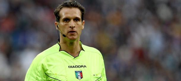Luca Banti arbitrando | Foto: SS Lazio