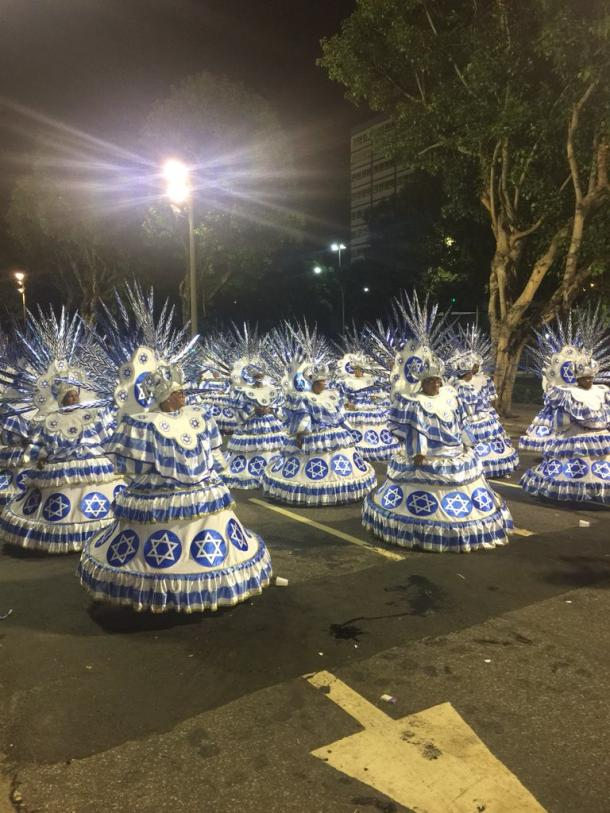 Ala das Baianas da Acadêmicos do Sossego (Foto: Luis Araújo/VAVEL Brasil)