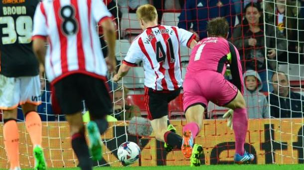 Watmore's first-team success is proving to be an inspiration for his younger team-mates. | Image source: The FA