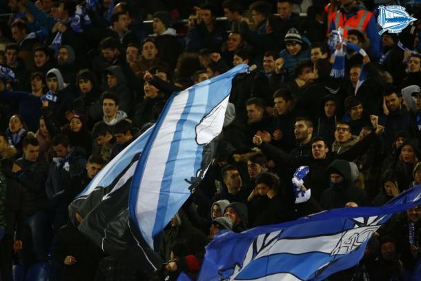 La afición será el jugador número 12 que empuja en cada partido en Mendizorroza. Fuente: deportivoalaves.com