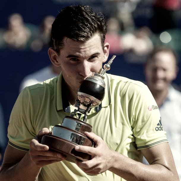 Thiem y su título en el Argentina Open 2018. | Foto: Prensa Argentna Open