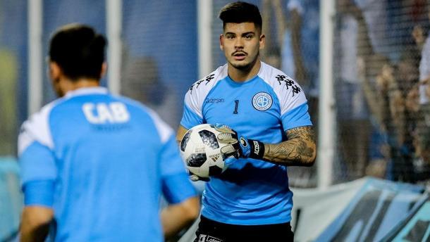 Acosta señaló que el Pirata viaja a Rosario en búsqueda de los tres puntos | Foto: Prensa Belgrano.