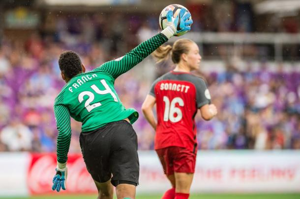 Adrianna Franch out for four weeks | Photo: Portland Thorns