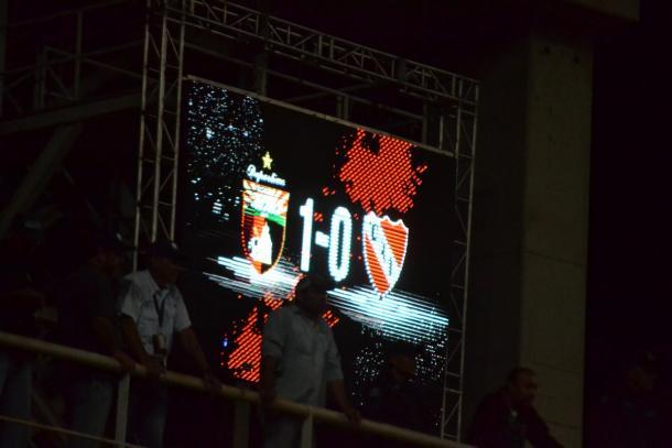 Marcador final | FOTO: Prensa Deportivo Lara