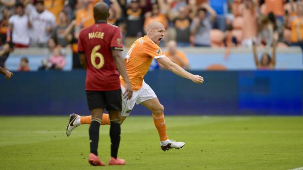 Phillipe Senderos picked up Houston's second goal | Source: houstondynamo.com