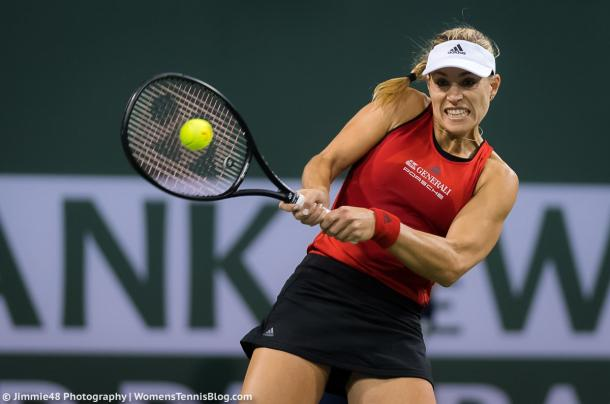Angelique Kerber perfectly rebounded from disappointingly losing the first set 3-6 | Photo: Jimmie48 Tennis Photography