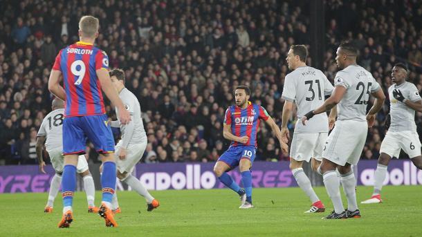 Momento do gol (Foto: CP)
