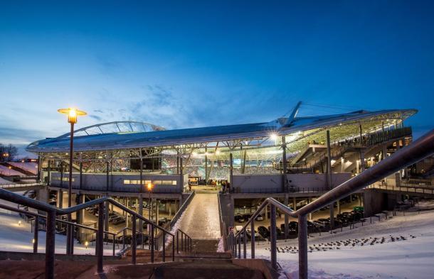 Red Bull Arena, casa del Leipzig | Foto: @RBLeipzig_EN