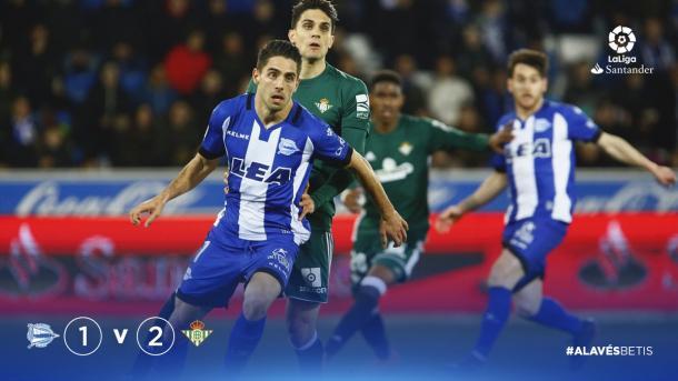 Los cambios realizados por Abelardo no han sido suficientes para dar la vuelta al encuentro. Fuente: deportivoalaves.com