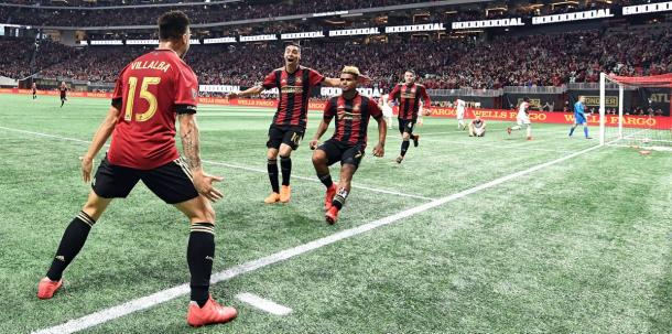 Atlanta were close to unstoppable in Week 2 | Source: atlutd.com