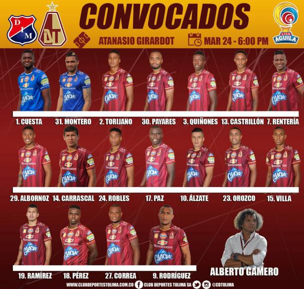 Foto: Deportes Tolima
