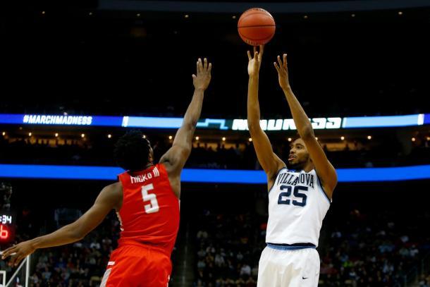 Mikal Bridges fez 19 dos 23 pontos na partida no segundo tempo (Foto: Divulgação/NCAA)
