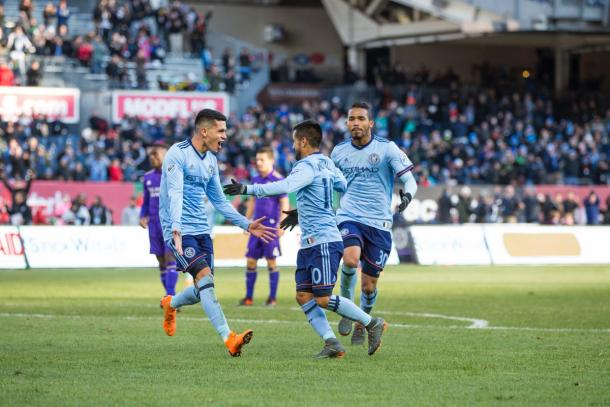 NYCFC put on a strong showing against Orlando last time out | Source: nycfc.com