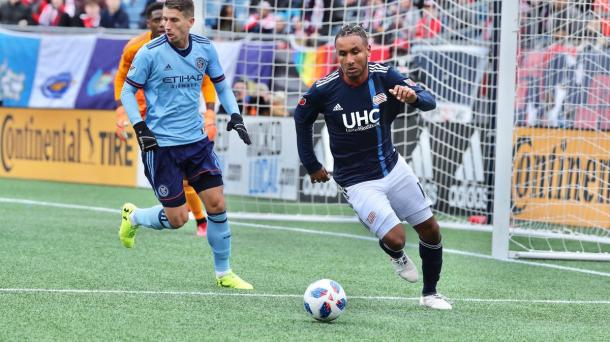 Juan Agudelo came in and created a spark for New England | Source: Bob DeChiara-USA TODAY Sports