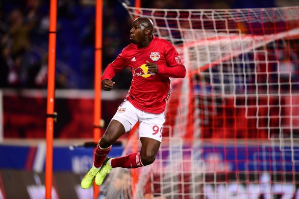 Bradley Wright-Phillips was in stellar form this weekend | Source: Vincent Carchietta-USA TODAY Sports