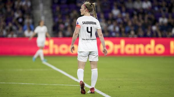 Sauerbrunn had a strong game against Orlando | Source: rsl.com