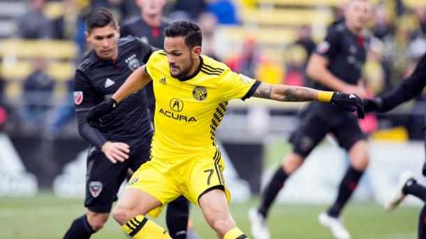 Columbus were too strong for a hapless D.C. United | Source: Greg Bartram-USA TODAY Sports