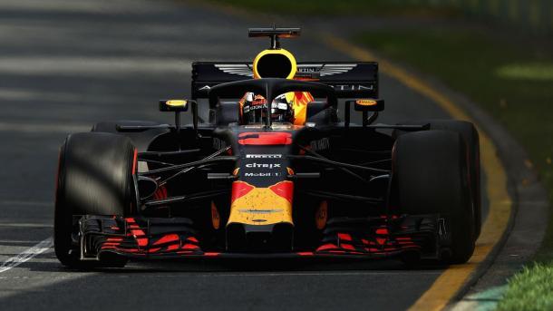Daniel Ricciardo durante el GP de Australia 2018 | Foto: @redbullracing