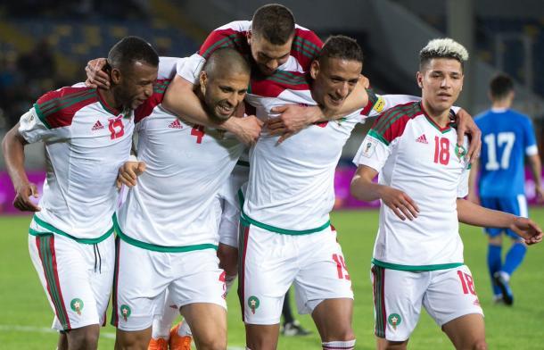 Marruecos dominó su grupo en la clasificación para el mundial | Foto: @FIFAWorldCup
