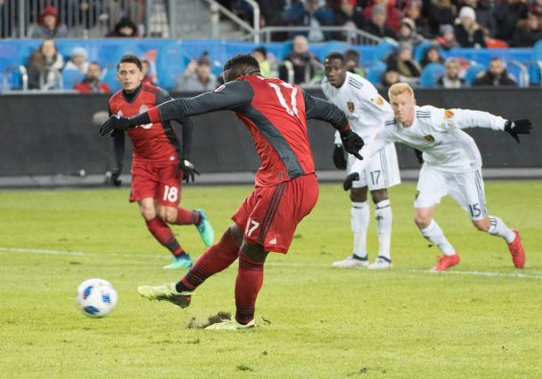Jozy Altidore made no mistake from the spot | Source: torontofc.ca